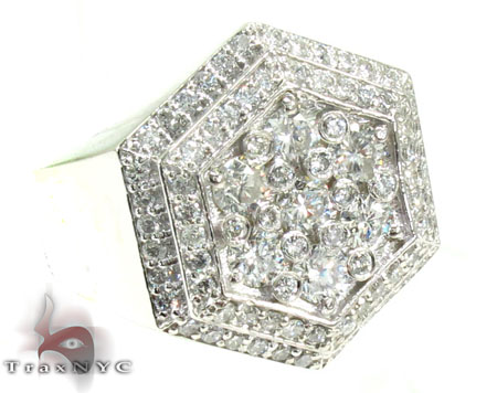 Mens Diamond Ring - Hip Hop Jewelry Section