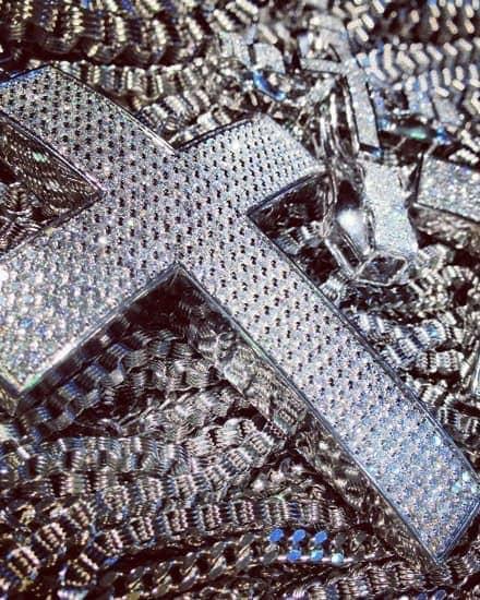 Mens Diamond Crosses