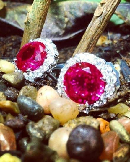 Womens Gemstone Earrings
