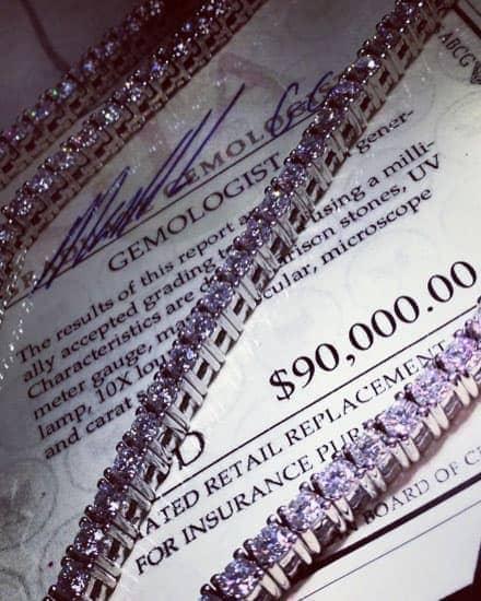 Mens Diamond Chains