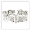 Mens Hip Hop Diamond Bracelt