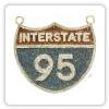Interstate Diamond Pendant