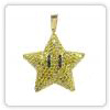 Mario Star Diamond Pendant