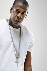Jay Z Wearing Diamond Cross - Hip Hop Jewelry