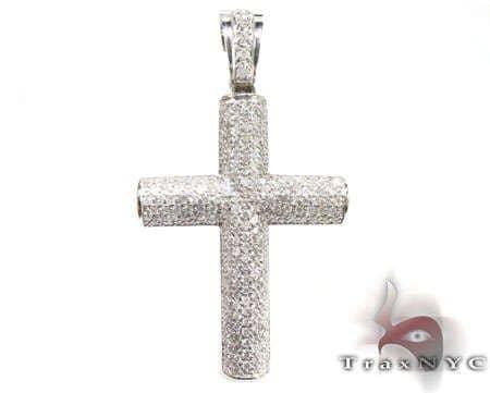 Futuresque Diamond Cross Pendant 2 Diamond