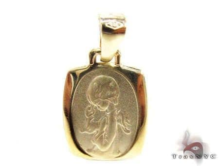 Praying Angel Pendant Metal