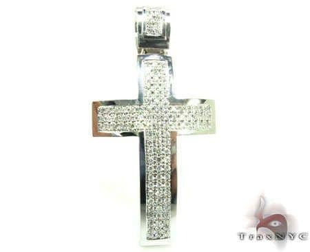 3 Row Cross Diamond