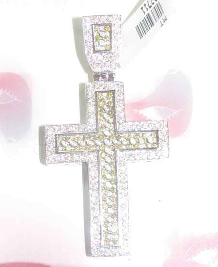 Pave standard Hip Hop Crosses