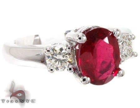 Ruby Red Ring 5 Anniversary/Fashion