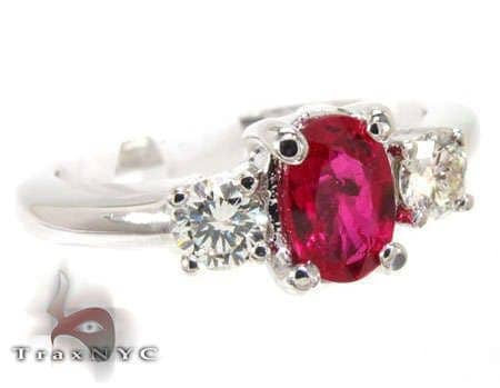 Ruby & Diamond Ring 12848 Anniversary/Fashion