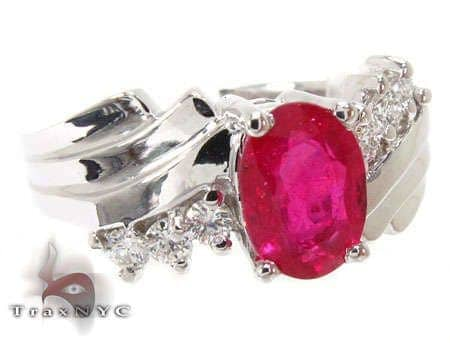 Majestic Ruby Ring Anniversary/Fashion