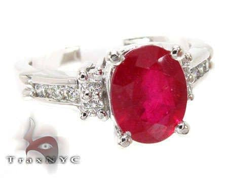 Ruby & Diamond Ring 12846 Anniversary/Fashion