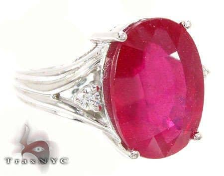 Ruby Mist Ring Anniversary/Fashion