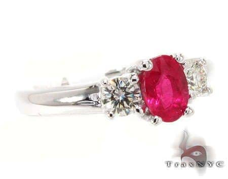 Ruby & Diamond Ring 12842 Anniversary/Fashion