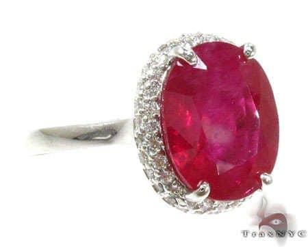 Erica's Ruby & Diamond Ring 2 Anniversary/Fashion
