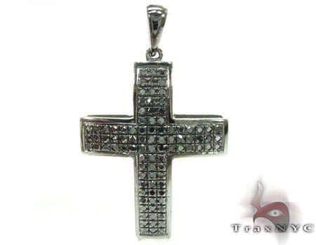 Small Black Diamond Junior Cross Diamond