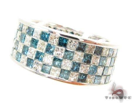 Full Checkered Ring 3 Anniversary/Fashion