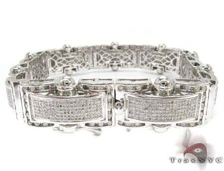 Scroll Bracelet Diamond