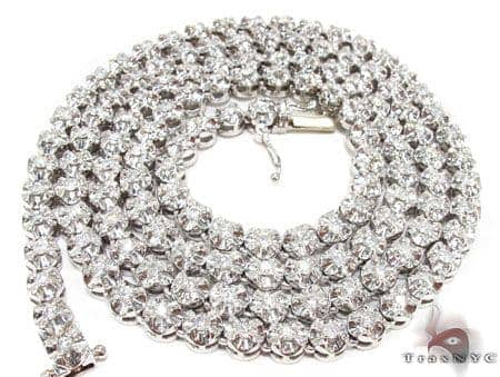 Shogun Chain 34 Inches, 5mm, 83.3 Grams Diamond