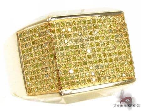 Full Canary Gladiator Ring Stone