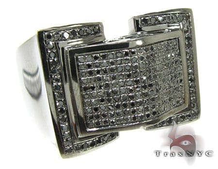 Black Diamond Twin Ring Stone
