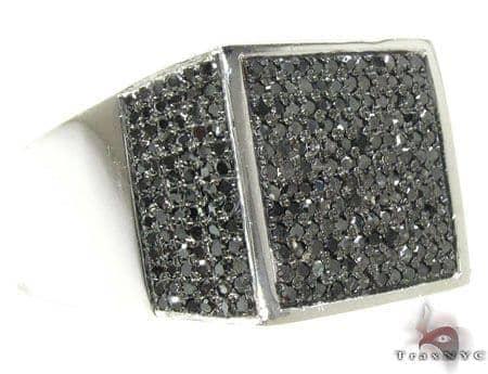 WG Black Diamond Fury Ring Stone