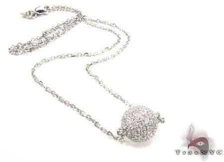 Ice Ball Necklace Diamond