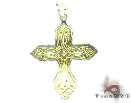 Holly Golden Cross Gold