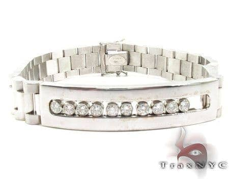 Small WG Diamond Olex Link Bracelet Diamond
