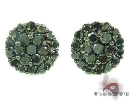 Major Cluster Earrings Stone
