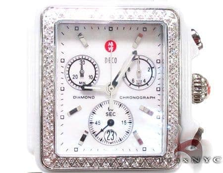 Michele Deco White Ceramic Watch MWW06F000002 Michele Diamond Watches