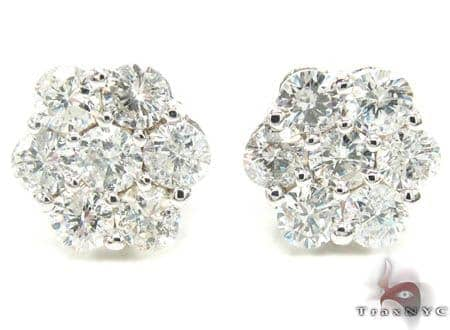 VS Cluster Earrings Stone