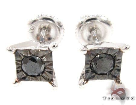 White Gold Kingdom Earrings 2 Stone