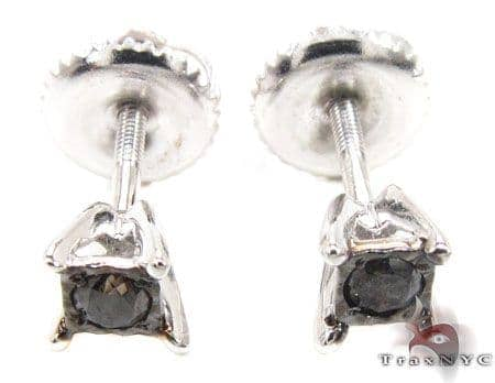 White Gold Kingdom Earrings 4 Stone
