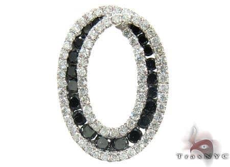 Oval Diamond Pendant 2 Stone