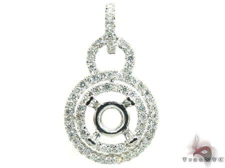 Queen Semi Mount Pendant Stone