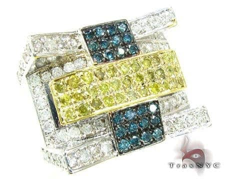 Sunny Multi-Color Ring 2 Stone