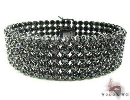Custom Jewelry - Black Diamond Toni Bracelet Diamond