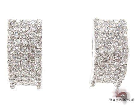 Deep Dish Earrings Stone