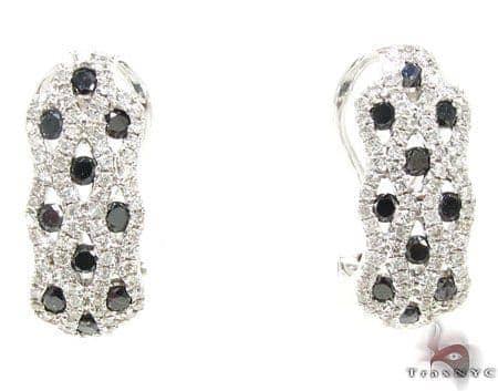 Dalmatian Earrings 2 Stone