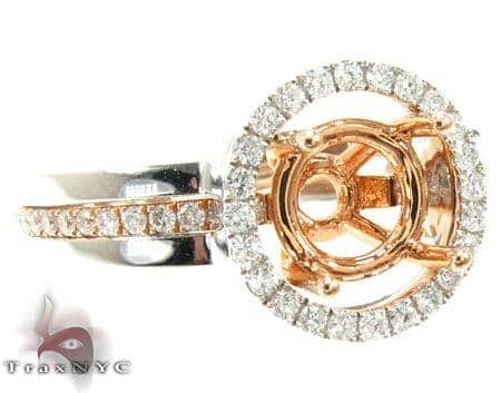 Ladies Semi Mount Ring 18961 Engagement