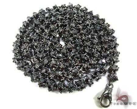 Black Diamond Chain 30in, 6mm, 140 Grams Diamond