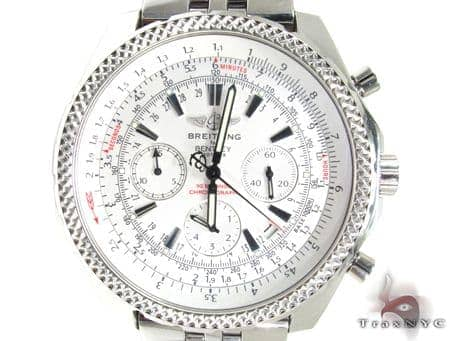 Breitling Bentley Motors White Dial A2536212 G552 Breitling