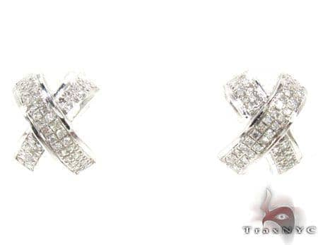 Ladies Diamond Earrings 19124 Stone