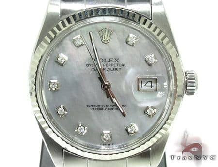 Rolex Datejust White Gold Watch 178274