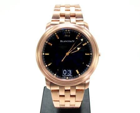 Custom Jewelry - Mens Blancpain Leman Ultra Slim Watch Special Watches