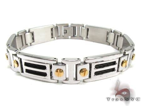 Stainless Steel Bracelet BJB35 Stainless Steel