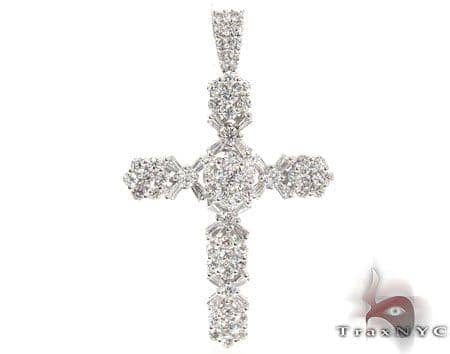 Diamond Cross Pendant 19527 Diamond
