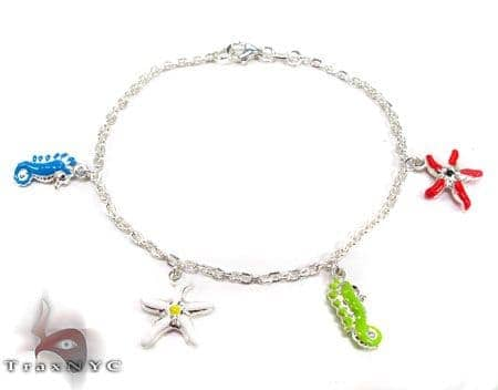Childs Silver Bracelet 19600 Silver & Stainless Steel