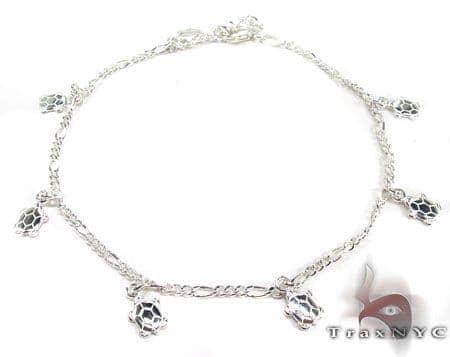 Ladies Silver Charm Bracelet 19614 Silver & Stainless Steel